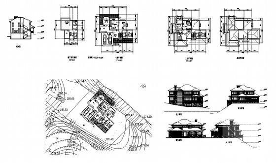 别墅设计结构图纸 - 5