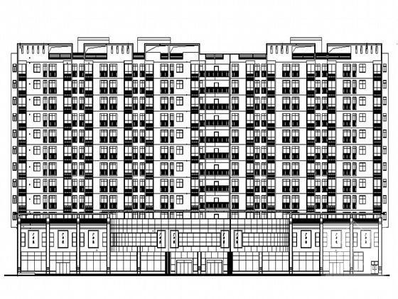 商业建筑效果图 - 1