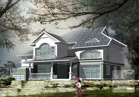别墅设计图纸效果图 - 3