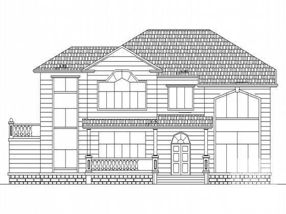 别墅设计图纸效果图 - 4