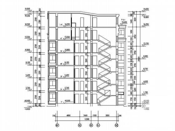塔式住宅平面图 - 2