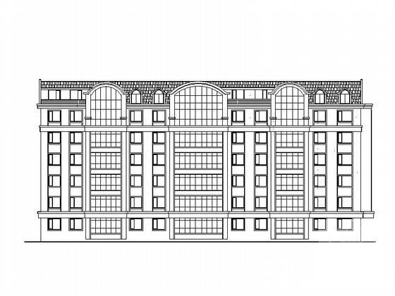 塔式住宅平面图 - 3
