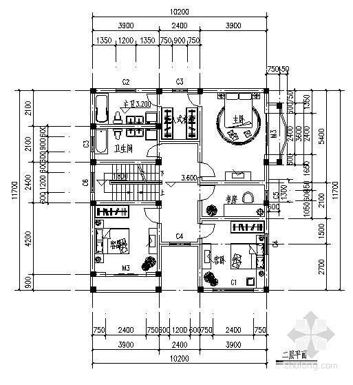 新农村别墅结构 - 2