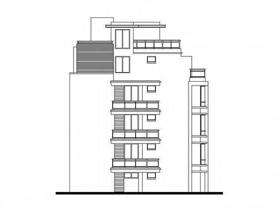 板式住宅平面图 - 1