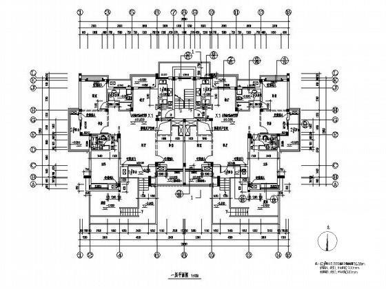板式住宅平面图 - 2