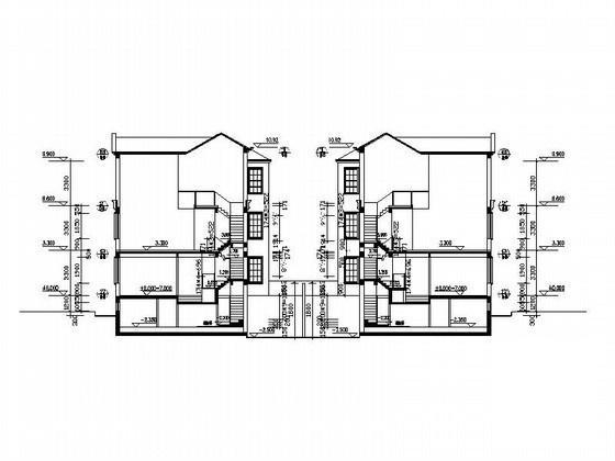 双拼别墅建筑设计 - 1
