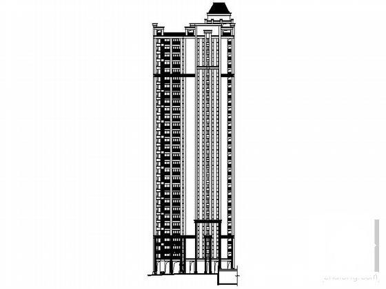 住宅楼建筑平面图 - 3