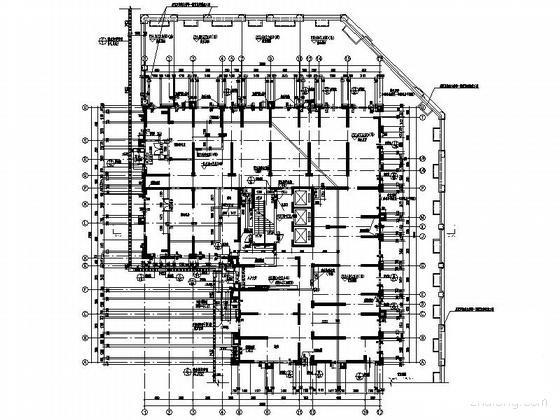住宅楼建筑平面图 - 4