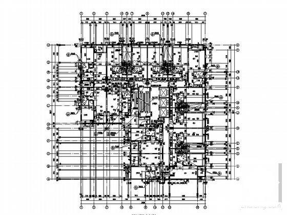 住宅楼建筑平面图 - 5