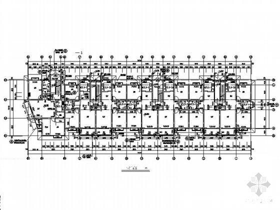住宅楼建筑平面图 - 2