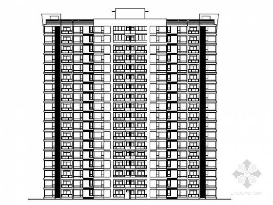 住宅小区住宅楼结构 - 5