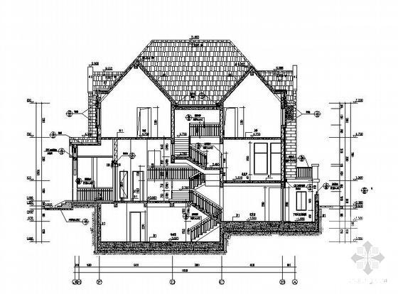 一层别墅施工图纸 - 1