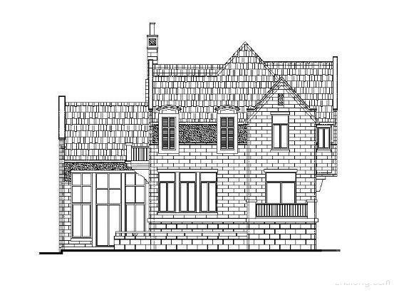 一层别墅施工图纸 - 2