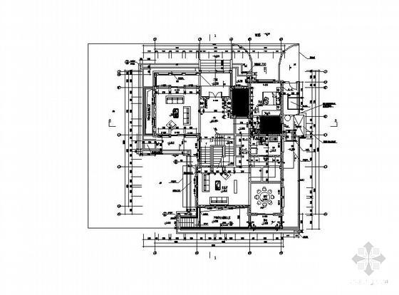 一层别墅施工图纸 - 3