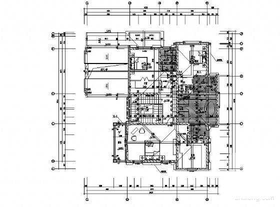 一层别墅施工图纸 - 4
