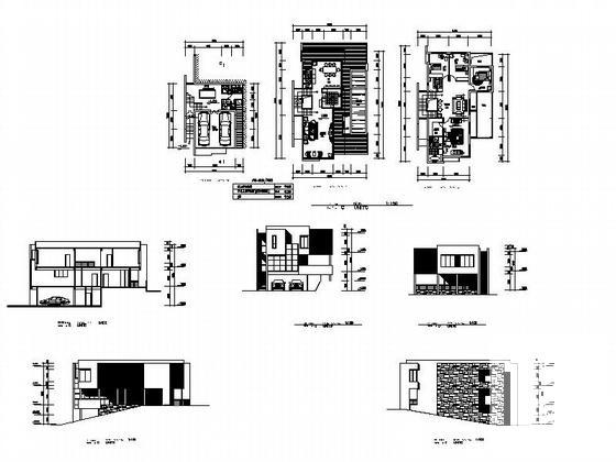 山地建筑设计方案 - 1