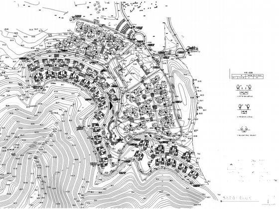 别墅区平面规划图 - 1