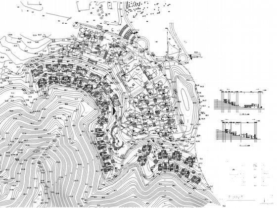 别墅区平面规划图 - 2