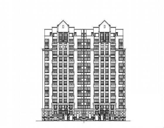 单元式高层住宅 - 1