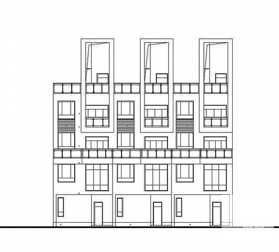 钢结构别墅建筑 - 1