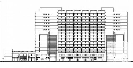 大学生公寓建筑设计 - 1