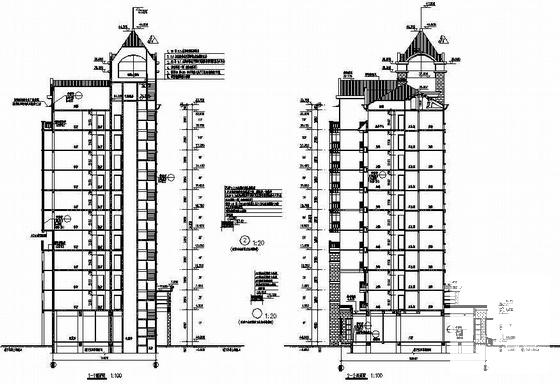 框支剪力墙结构建筑 - 1
