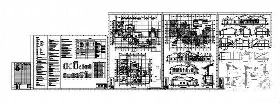 西式建筑图纸 - 2