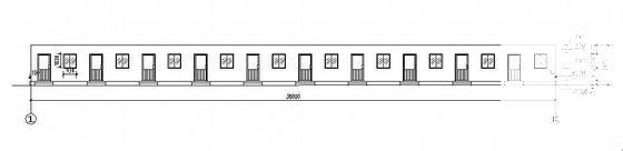 活动板房施工图纸 - 1