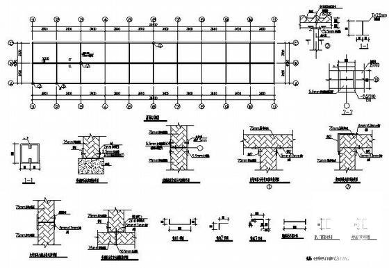 活动板房结构图纸 - 2