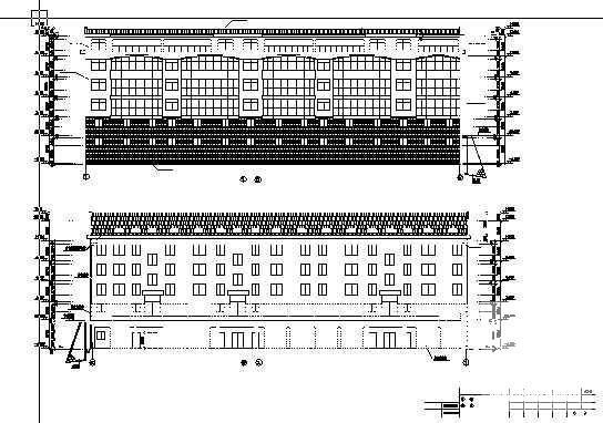 宿舍建筑效果图 - 2