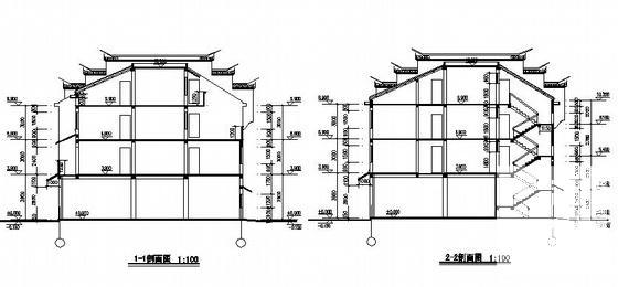 徽派马头墙施工图 - 4