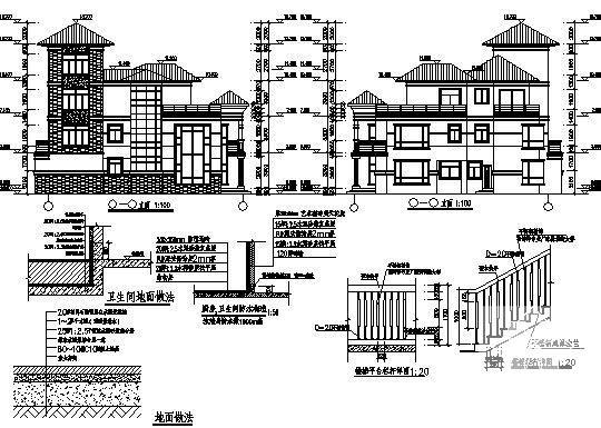 仿古别墅建筑 - 3