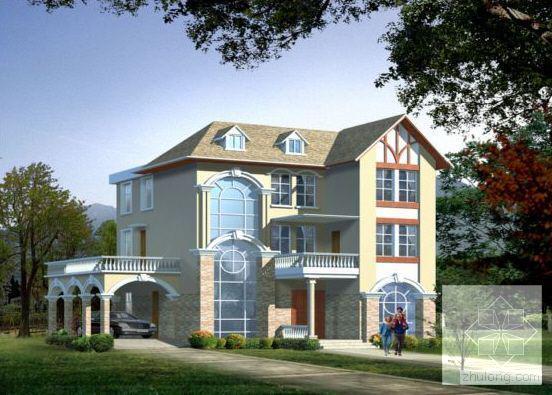 别墅方案带效果图 - 3