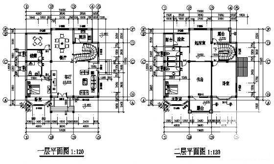 小别墅设计效果图 - 2