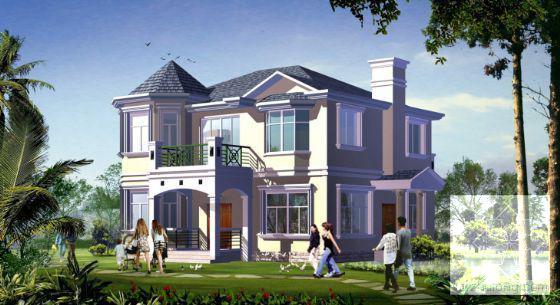 小别墅设计效果图 - 3