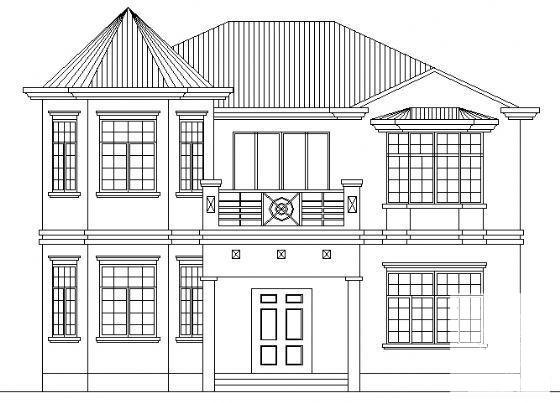 小别墅设计效果图 - 4