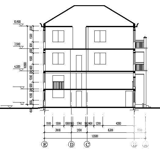 家用建筑图纸 - 4