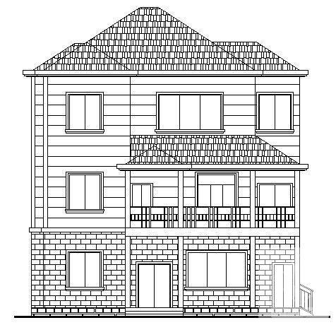 农村住宅建筑设计 - 3