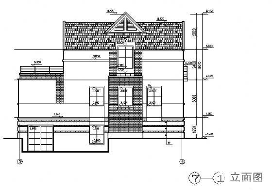 独立别墅建筑设计 - 2