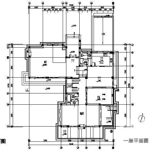 独立别墅建筑设计 - 1