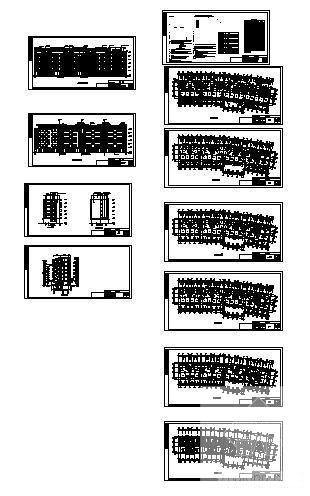 多层住宅楼建筑设计 - 1