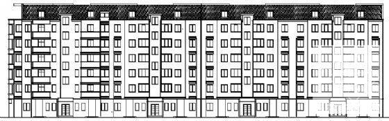 多层住宅楼建筑设计 - 2