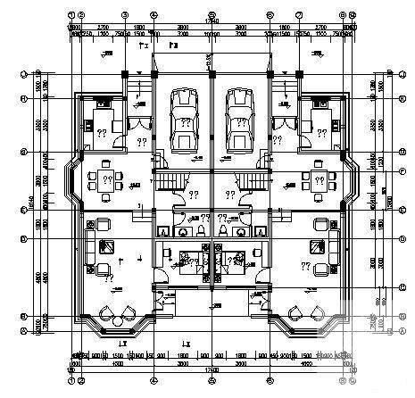 双拼别墅建筑设计图 - 2