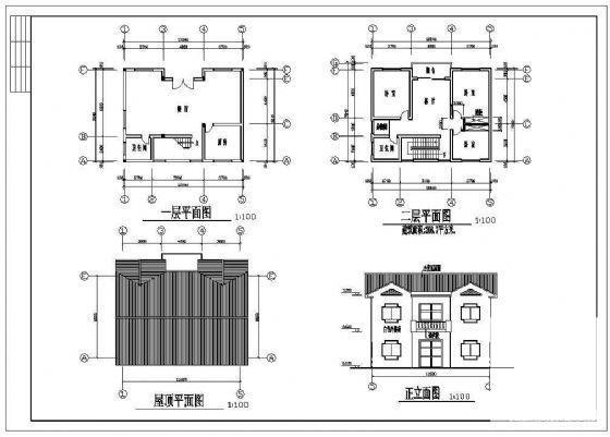 农村二层别墅建筑 - 4