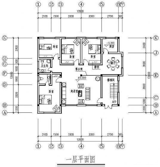 乡村别墅结构 - 1