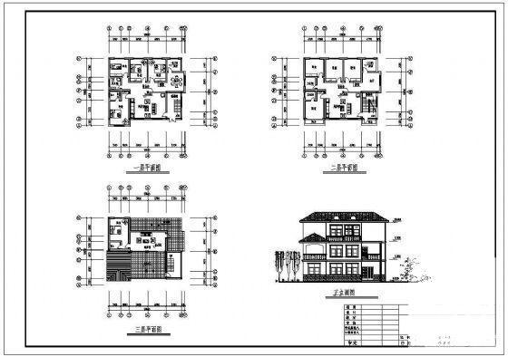 乡村别墅结构 - 2