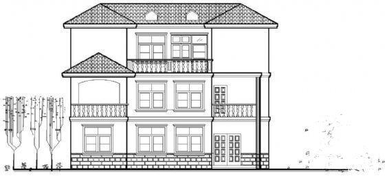 乡村别墅结构 - 4