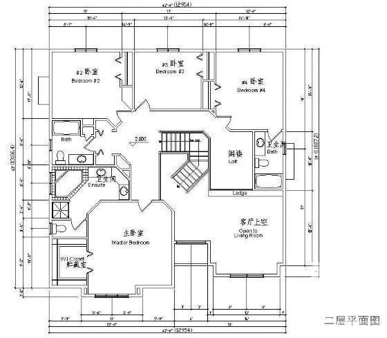 欧式别墅建筑设计 - 3