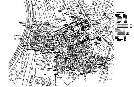 一份高档住宅小区建筑设计CAD图纸