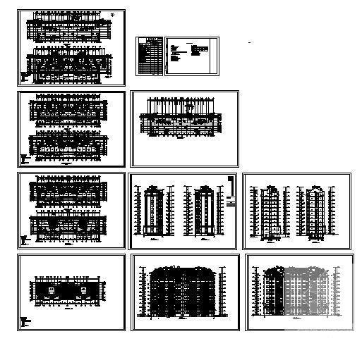 居住小区规划设计图 - 4